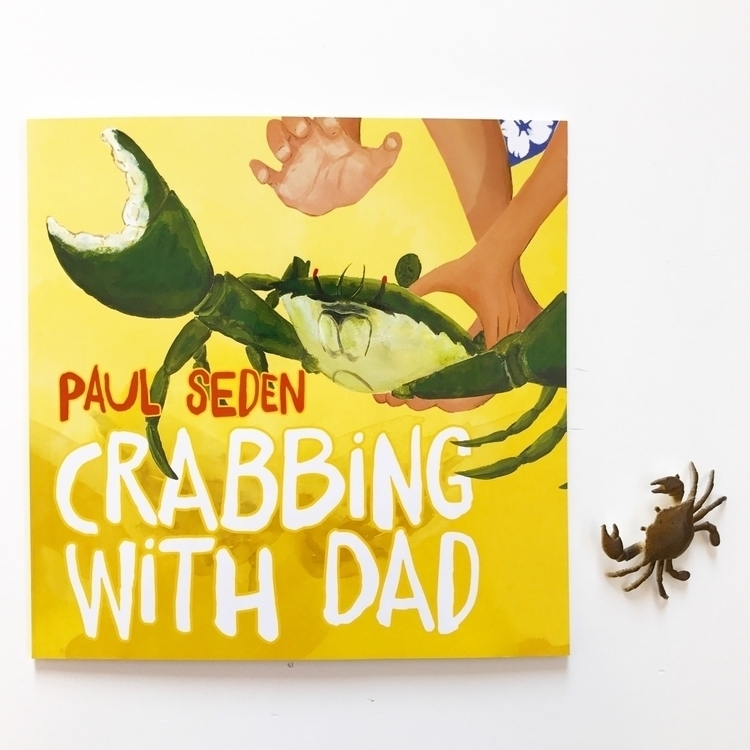 Crabbing Dad story nice easy re - kidsbookswelove | ello