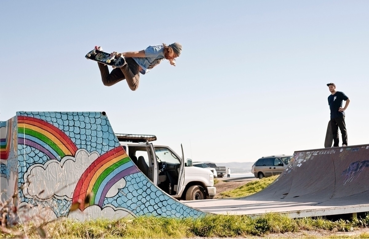 Chris Haslam Moon Bay Ramp - skateboarding - kevinbiram   ello