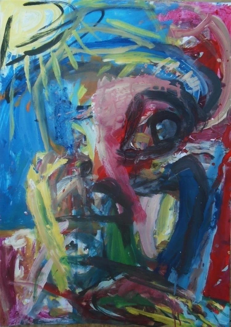 man - painting, art, expressionism - giannisrallis | ello