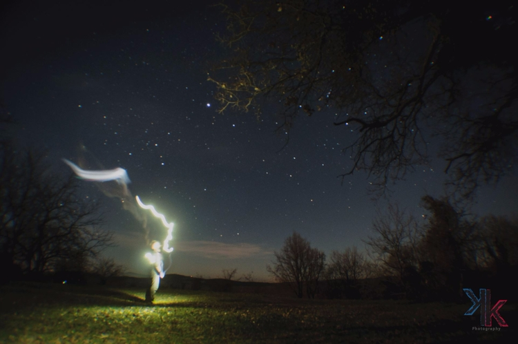 stars, light, trail - dnos | ello