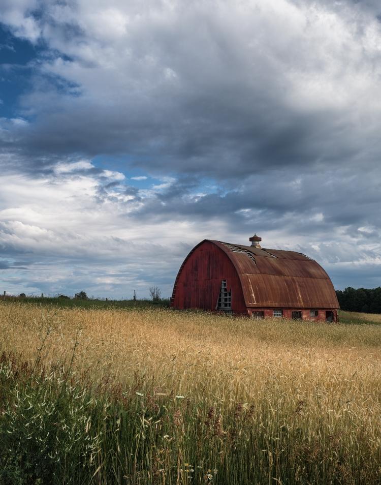 Abandoned Barn Hay Northern, Mi - mthouston   ello