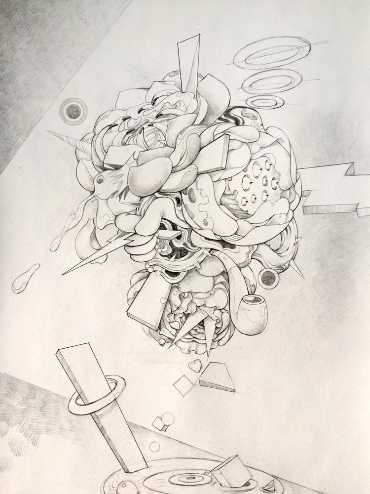Sketching - drawing, sketchaday - alice_lin   ello