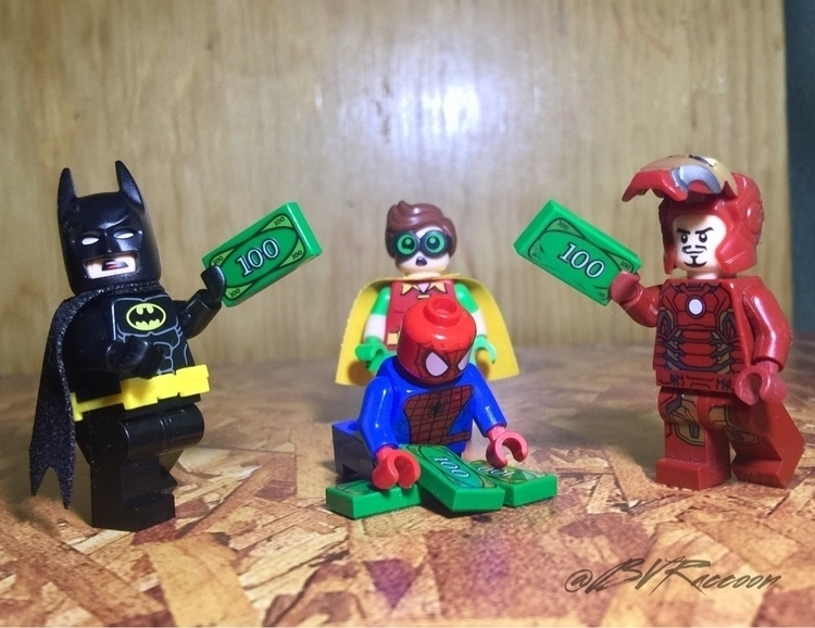 Money fight - lego, lego365, legostagram - belialvr | ello