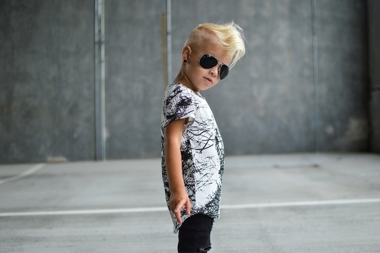 stud SPLATTERED Tee🖤  - kidsfashion - littleryderclothing | ello