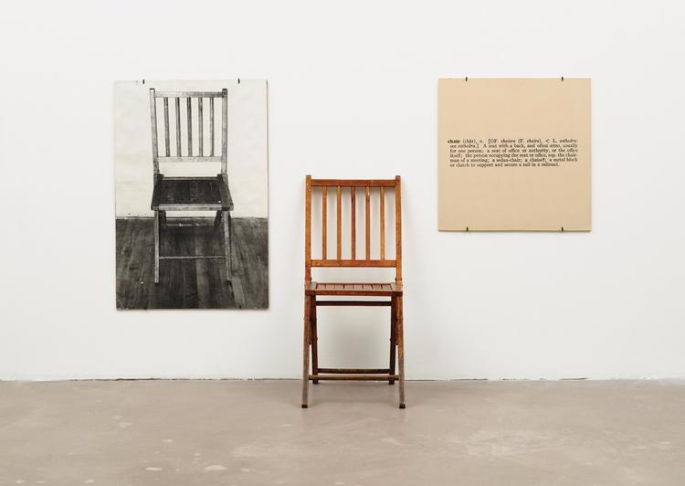 Joseph Kosuth - art, pioneer, installation - valosalo   ello