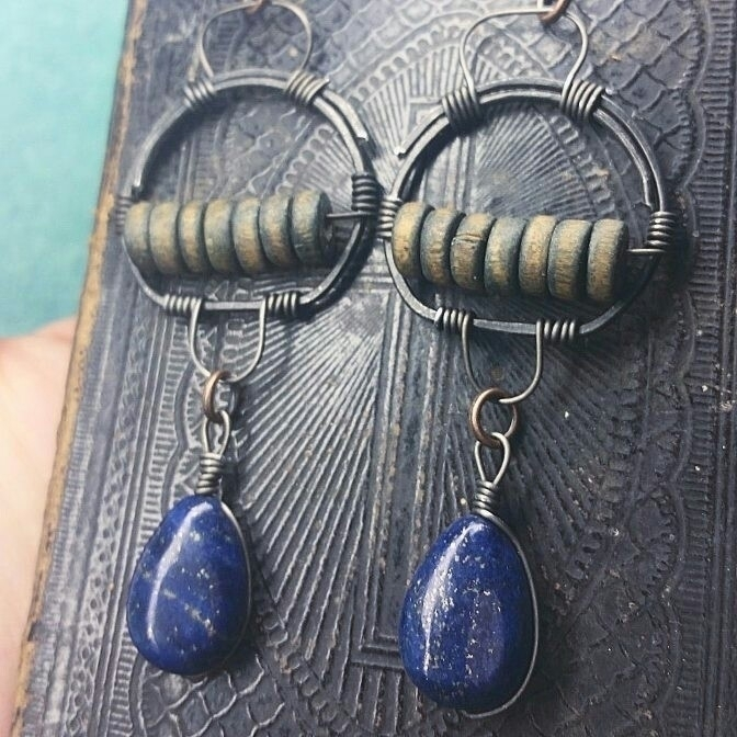 Blue Drops Earrings - ellowitch - kalabruixa | ello