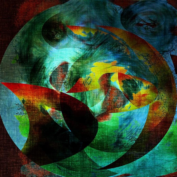 painting called Global Healing - jmbowers | ello