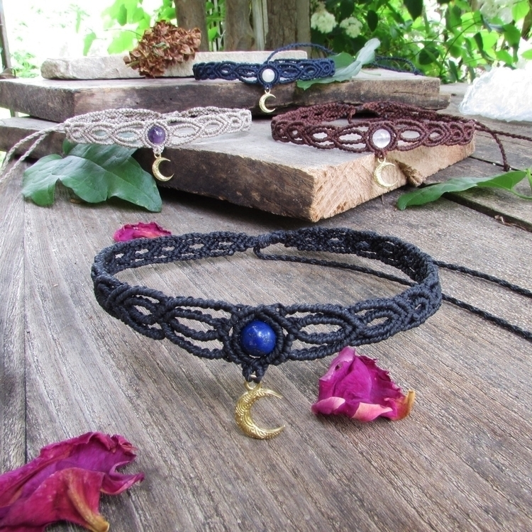 Crescent moon chokers! love cha - sinucreation | ello