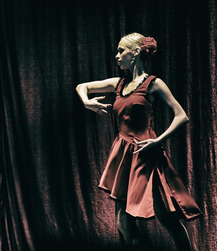 dance, ballet, woman, grace, attitude - cornelgin   ello