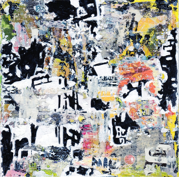Title: Abstract NYC Size: 6″X6 - damionismyname | ello