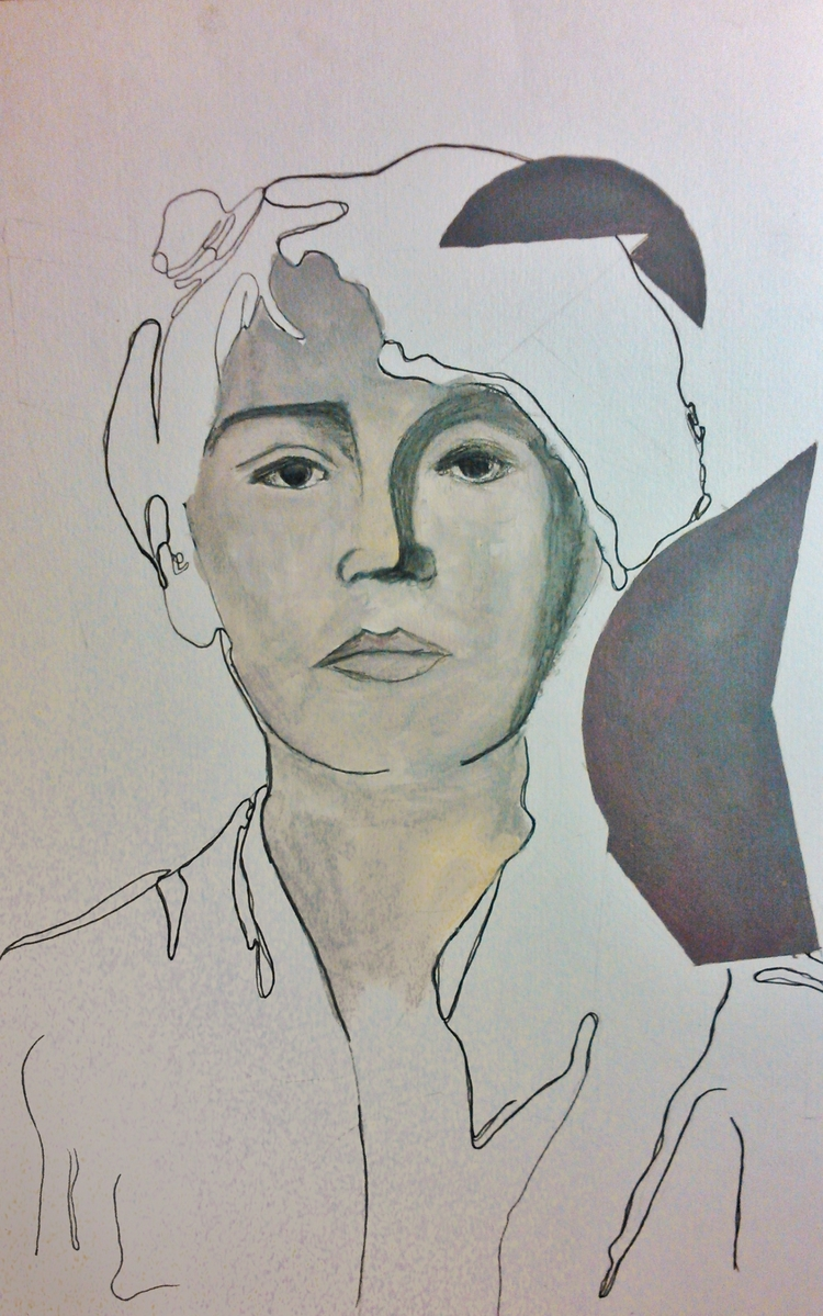Camille Claudel ///// *ink oil  - guiart | ello