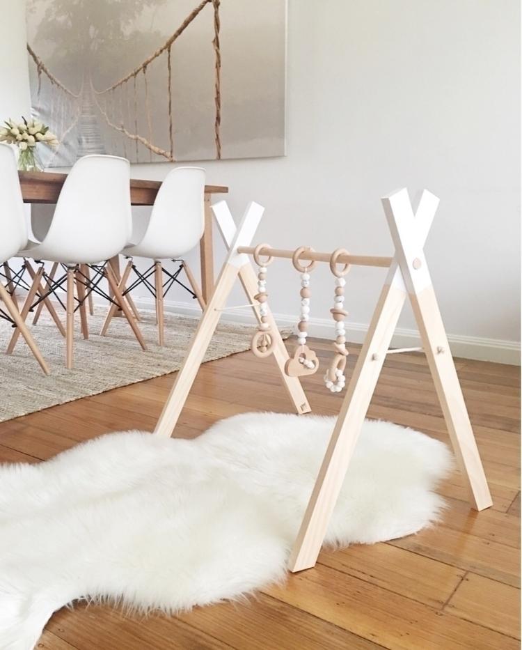 Handmade wooden play gym - love_ellie_au_ | ello