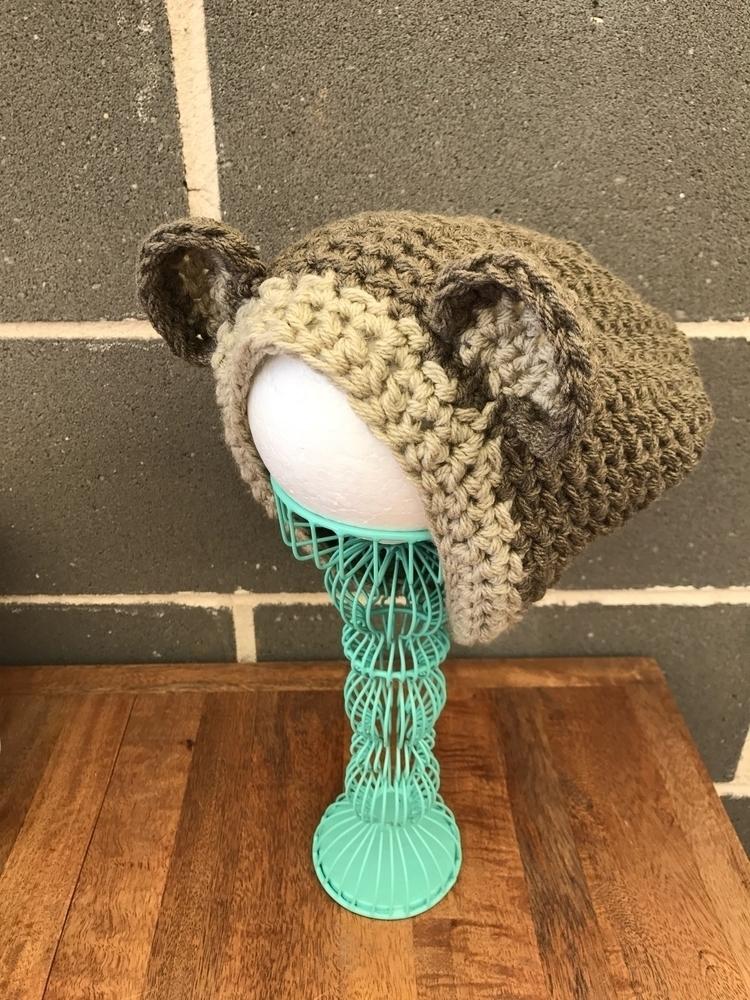 bear beanie $24 loving texture - kshandmadelove | ello