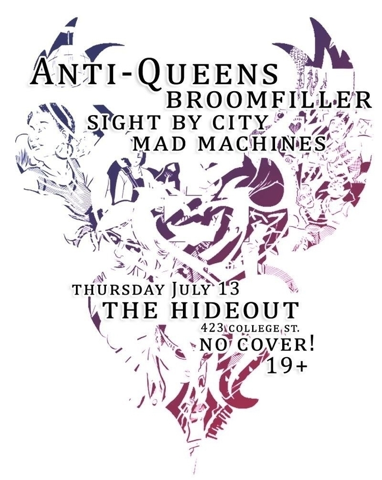 TONIGHT Toronto COVER - indierock - broomfiller | ello