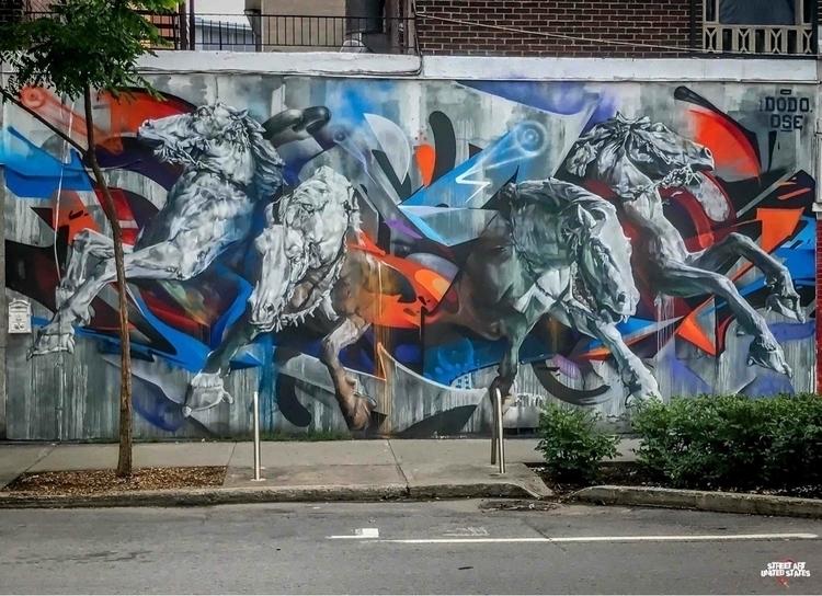 Artist: Dodo Ose Location: Mont - streetartunitedstates | ello