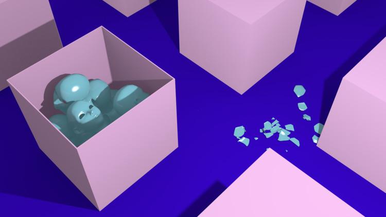 Boxes Heads - 3D, 3dart, art - dzproduction | ello