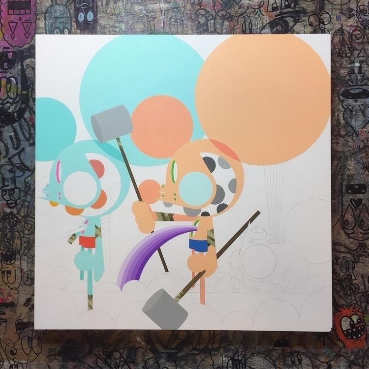 Working paintings - spacemonkey - dalek | ello