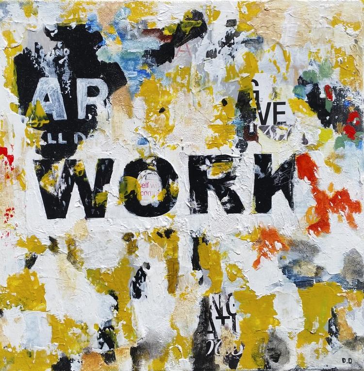Title: Work Size: 12″X12″ Mediu - damionismyname   ello