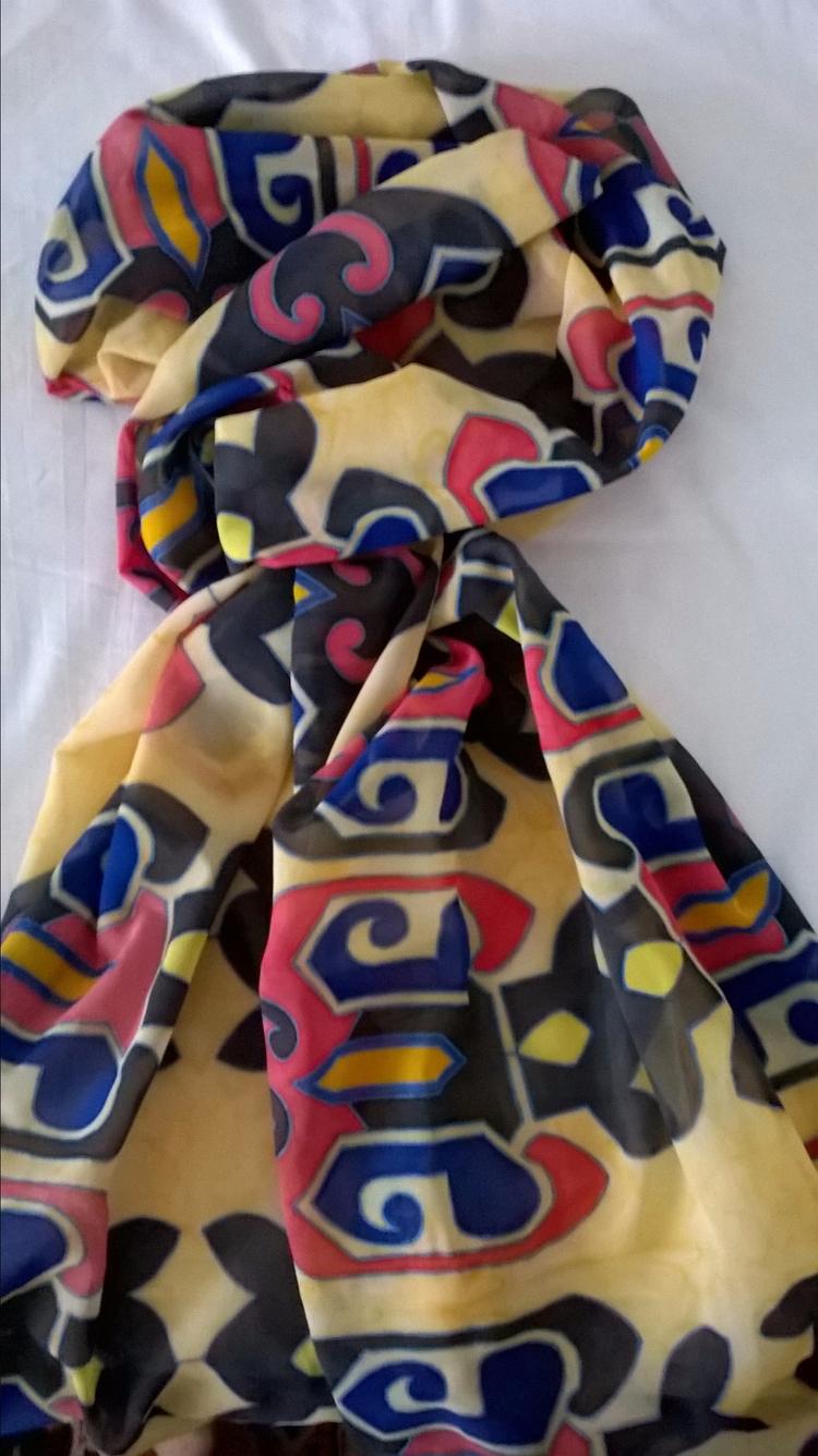 Bulgarian design scarf - katerina08 | ello