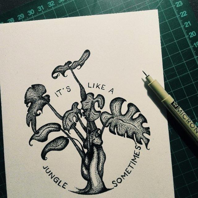 stippling - liezlfourie | ello