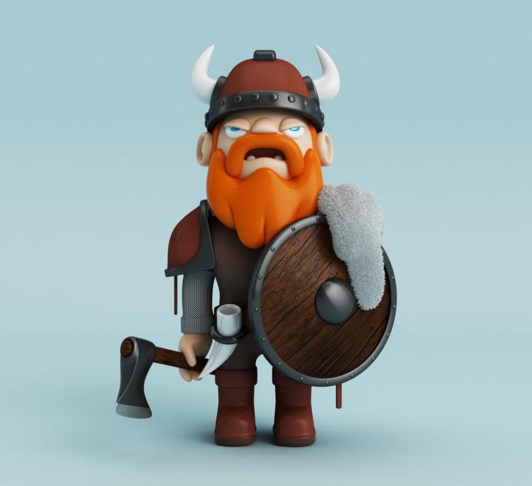 Warrior Valhalla. Follow  - viking - oscarasecas   ello