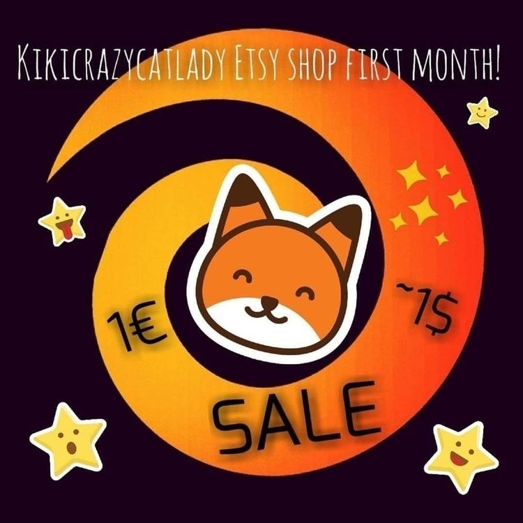 celebrate Etsy shop month, redu - kikicrazycatlady | ello