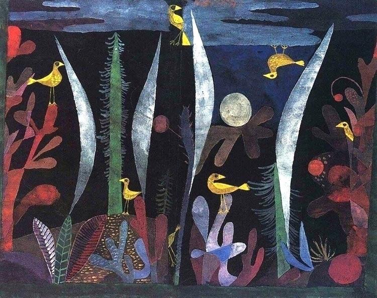 Paul – 1923 - Klee, Landscape, yellow - bauhaus-movement | ello