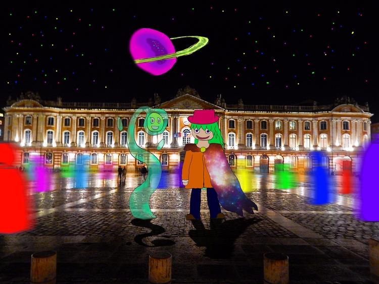 Capitol Square love - France, Toulouse - mangekkojones | ello