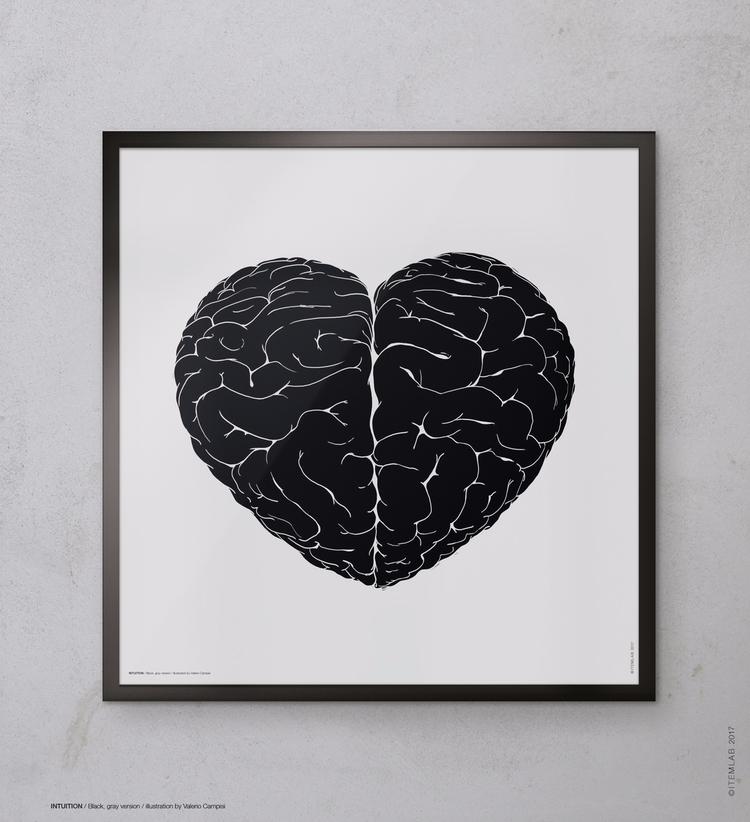 INTUITION / Black Gray version  - itemlab_designstudio | ello