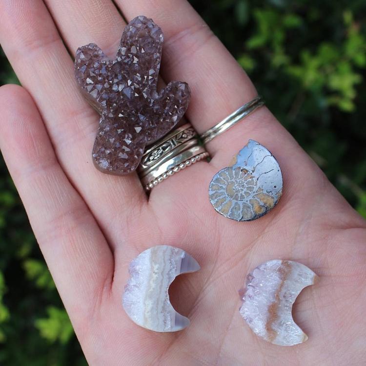 cute crystals received week?? w - moongoddessvibes | ello