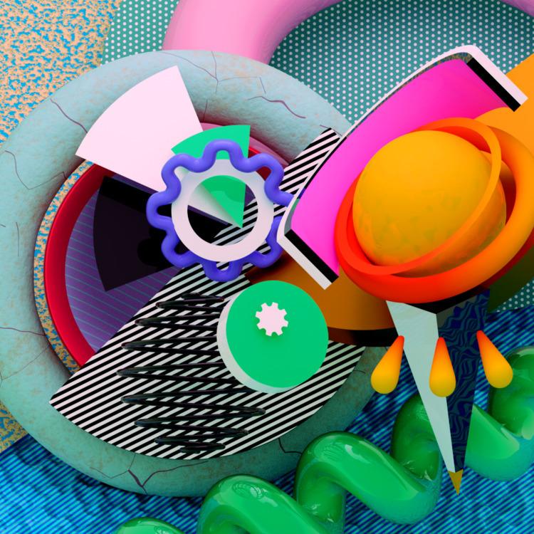 b3D, 3D, abstract, art, design - ikiste | ello
