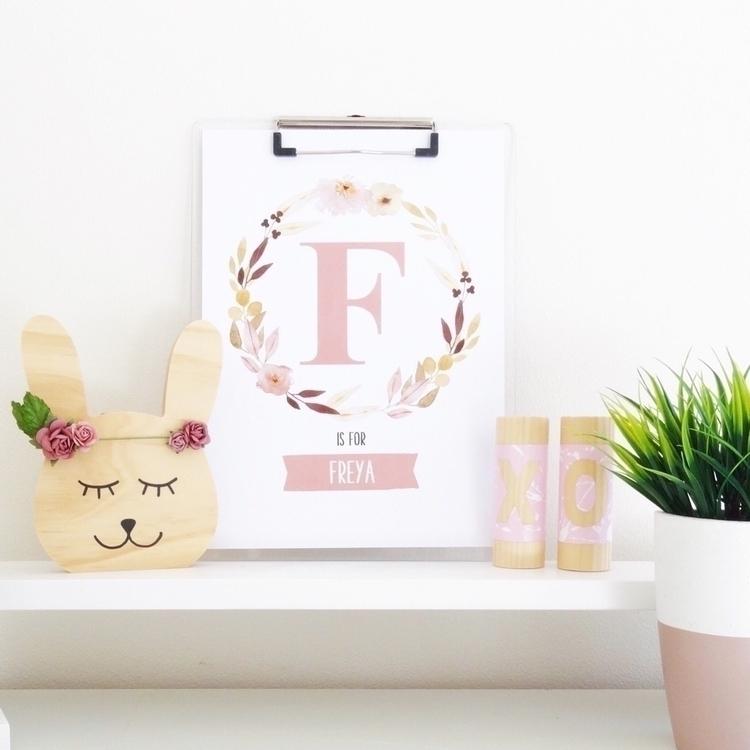 love Personalised Birth Prints - kaebee_designs   ello