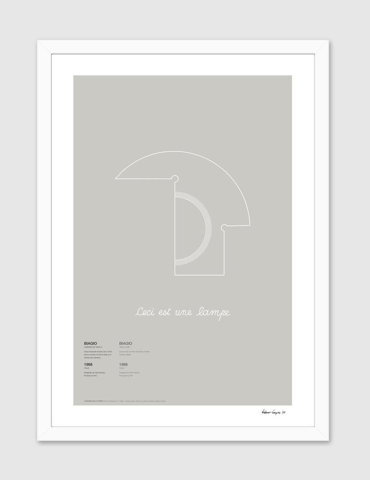ID S01-04 / Biagio Gray version - itemlab_designstudio | ello