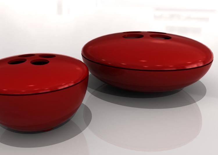 Buttons stackable bowls - ProductDesign - marcomariosimonetti | ello