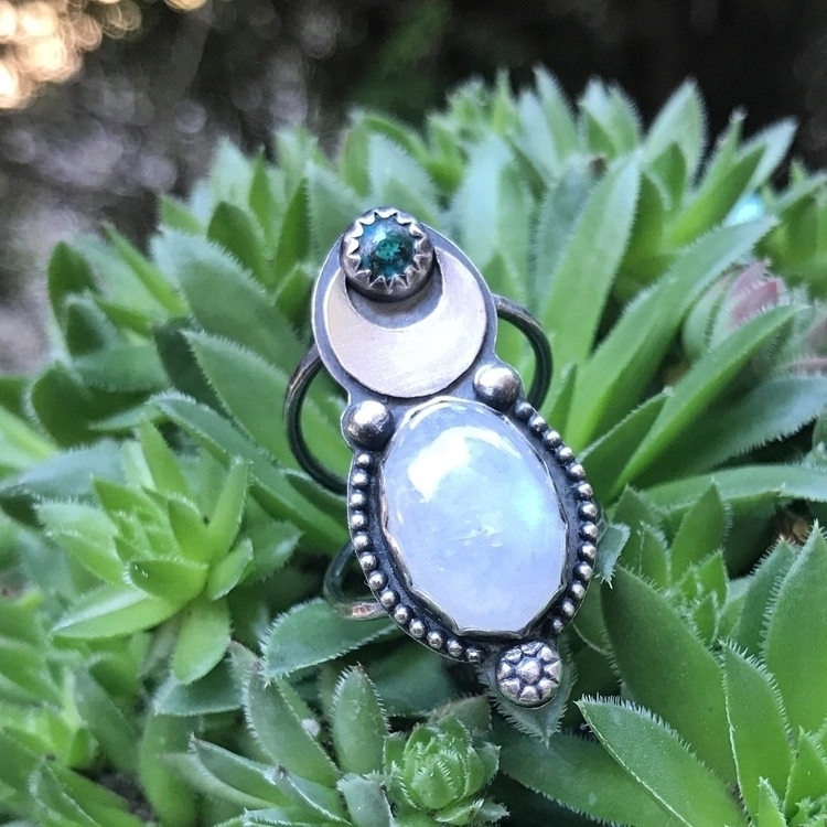 Finally rings listed!! moonston - blueandblueshop | ello