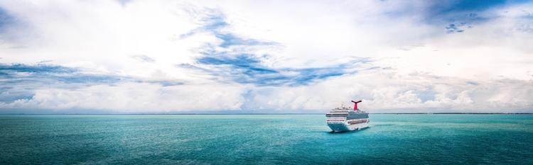 Solitary Sea cruise ship Carniv - mattgharvey | ello