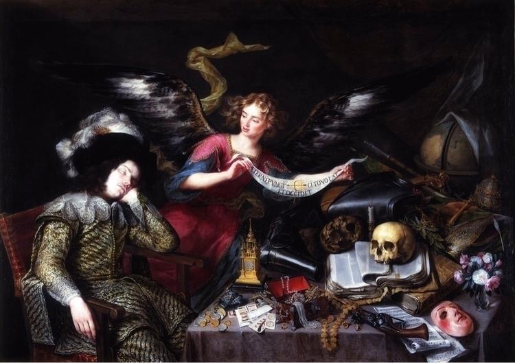 Allegory Vanity Antonio de Pere - bitfactory | ello