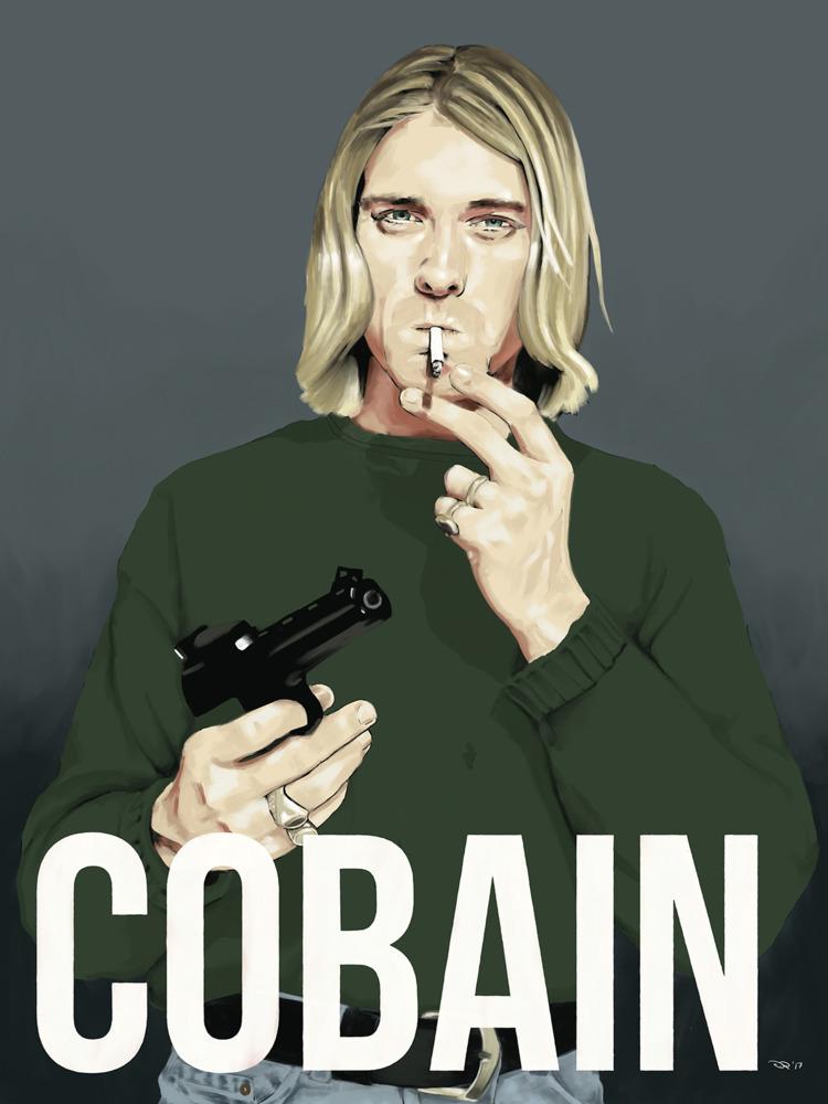 Cobain Digital, 2017. Reference - notbadart | ello