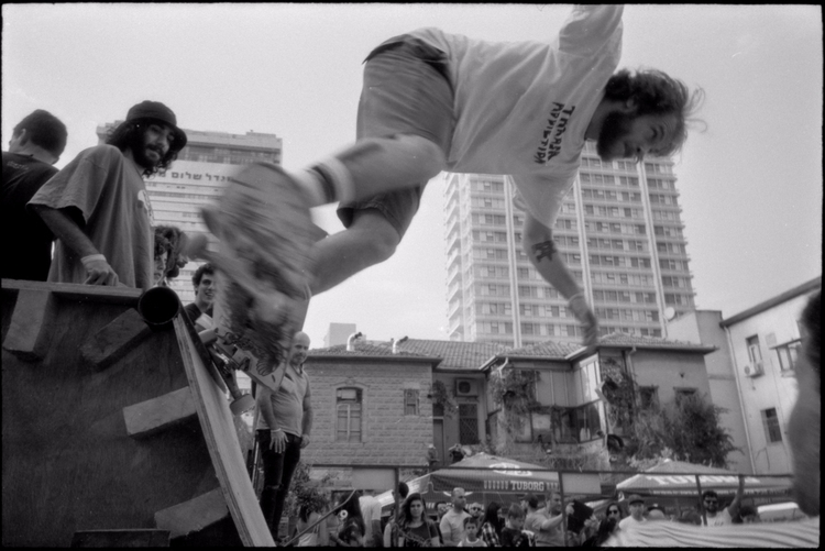street action skateboardists ev - victorbezrukov   ello