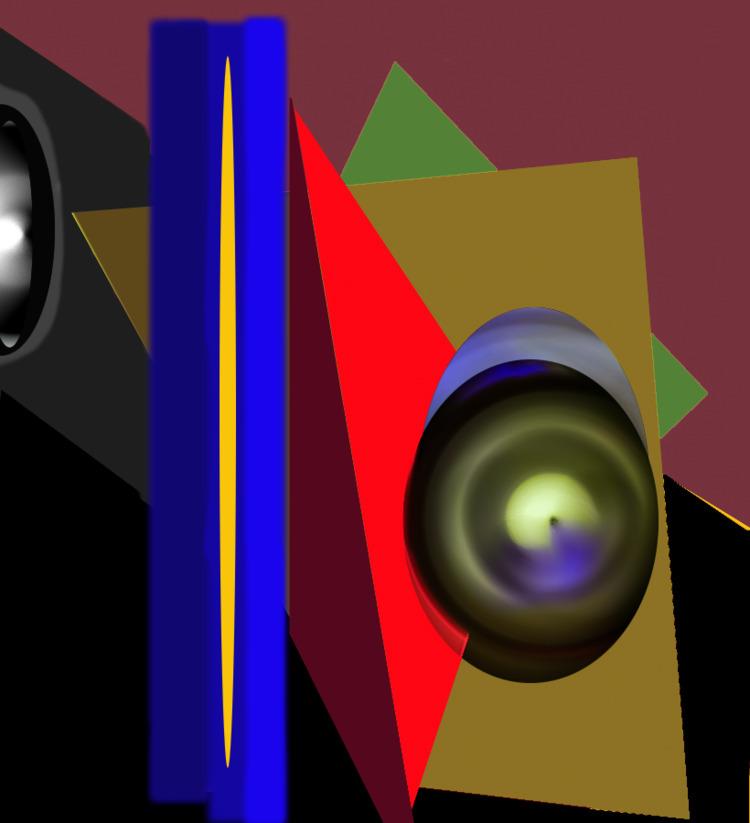 Mask / Roland Bastien 1379h11 - NewMediaArt - rbastien | ello