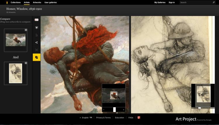 Art Project online explore - elloandroid | ello