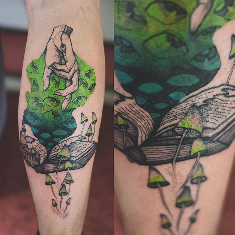 Psychedelic adventure Joanna Św - tattoofilter | ello