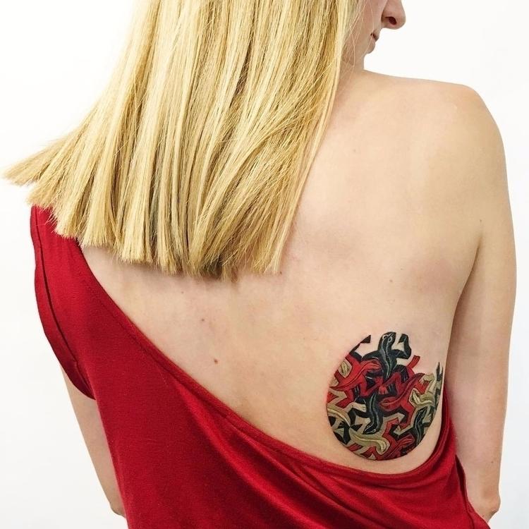 Lizard 56) inspired Rit Kit - tattoo - tattoofilter | ello