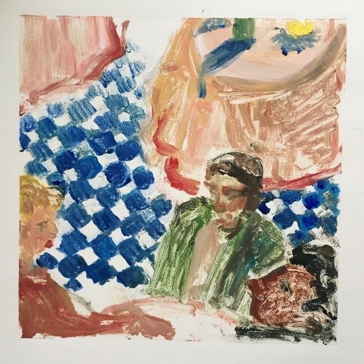 work - monoprint, colour, drawing - yuliavirko   ello