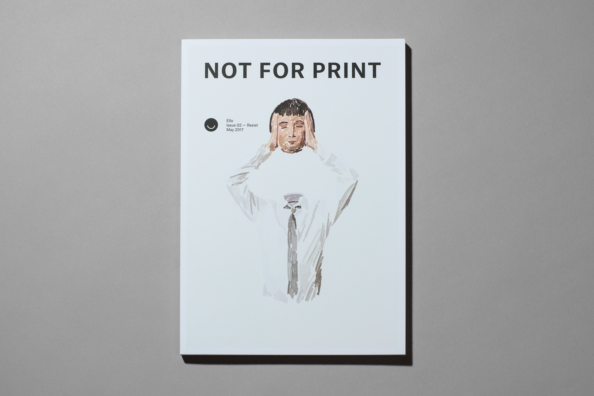 Print, Issue 02 Giveaway collab - notforprint | ello