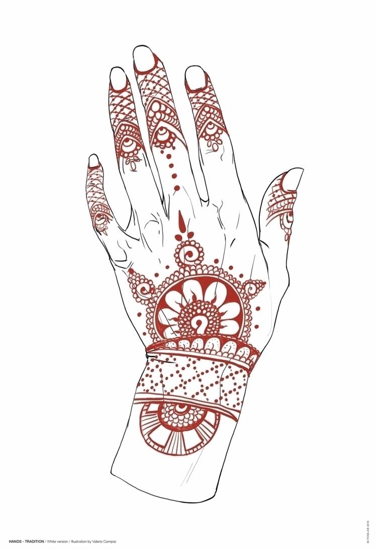 HANDS / Traditions Black White  - itemlab_designstudio | ello