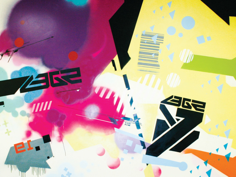 Technograffiti - spraypaint, graffiti - alejandrofiny | ello