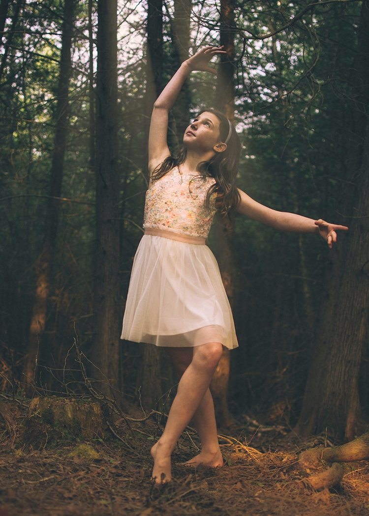 NorthernMichigan, ballerina, forest - davelharrell | ello