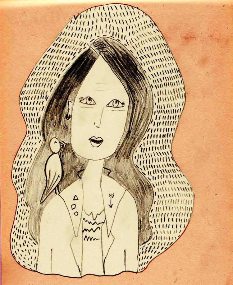 Bird - illustration, illustrator - nigli   ello