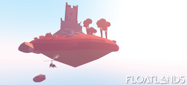 3D, gaming, design, game, graphics - floatlands | ello